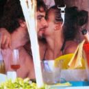 Pau Gasol And Silvia Lopez Castro @ Mykonos, Greece - Summer 2010