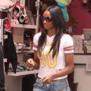 Ciara Shopping At A Store Called D.O.G - August 26 2009