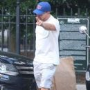 Leonardo DiCaprio Hails A Cab In New York - June 30, 2016 - 405 x 591