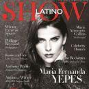 María Fernanda Yépes- Show Latino Magazine United States November 2012 - 454 x 605