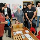 Salman Khan at Rashid Pediatric Therapy Centre in Dubai for Being Human Charity 2012