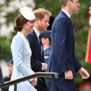Prince Windsor and Kate Middleton :  National service of thanksgiving for celebrate the Queen's 90th birthday