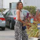 Jessica Alba Heads To Her Office In Santa Monica