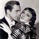 Claudette Colbert and David Manners