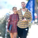 Christina Milian and Matt Pokora – Out of lunch in West Hollywood - 454 x 645