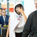 Kendall Jenner – Arriving at Charles de Gaulles Airport in Paris