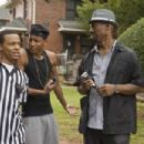 (L-r) BOW WOW as Kevin Carson, BRANDON T. JACKSON as Benny and CHARLIE MURPHY as Semaj in Alcon Entertainment's comedy 'LOTTERY TICKET,' a Warner Bros. Pictures release. Photo by David Lee - 454 x 302
