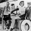 Paulette Goddard and Charlie Chaplin