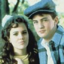 Ione Skye and Matthew Perry