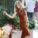 AnnaLynne McCord films her scenes for 90210 in Santa Monica March 14, 2012