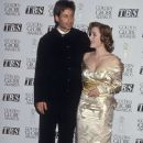 David Duchovny and Gillian Anderson At The 52nd Annual Golden Globe Awards (1995)