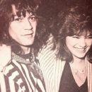 Valerie Bertinelli and Eddie Van Halen - 454 x 375