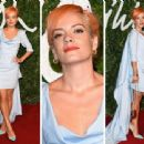 Lily Allen attends the British Fashion Awards at London Coliseum