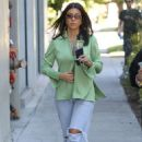Kourtney Kardashian in Ripped Jeans – Out in West Hollywood