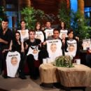 Breaking Dawn Cast on The Ellen DeGeneres Show November 18, 2011