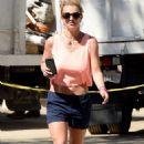 Britney Spears Leaving An Office Building In Thousand Oaks