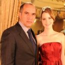 Nathalia Dill and Humberto Martins