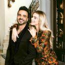 Luis Fonsi and Agueda Lopez - Hola! Magazine Pictorial [United States] (February 2018) - 432 x 433