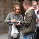 Stephanie Davis at Lime Pictures Studios in Liverpool - 454 x 817