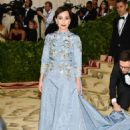 Kristin Scott Thomas – 2018 MET Costume Institute Gala in NYC - 454 x 682