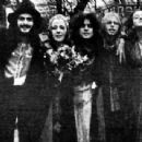 Friday January 30th, 1970 - T-Rex singer Marc Bolan and June Ellen Child got married at the Kensington Registry Office. Just five close friends were invited along: Mickey Finn and his girlfriend Sue Worth, Jeff Dexter, and witnesses Alice Ormsby-Gore and - 454 x 342