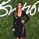 Joan Smalls attends the British Fashion Awards at London Coliseum on December 1, 2014 in London, England