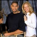 Tim Duncan and Amy Sherrill