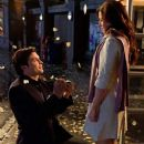 Smallville actors Tom Welling and Erica Durance Pictures