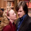 Virginia Madsen and Jim Carrey
