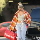 Hailey Bieber in Crop Top – Hits up the dance studio in West Hollywood
