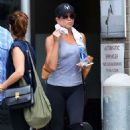 Jennifer Aniston – Leaving her workout in New York City