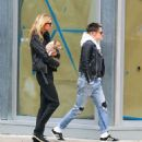 Kristen Stewart and Stella Maxwell out in New York City - 454 x 524