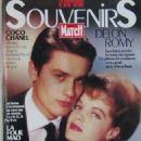 Alain Delon - Paris Match Magazine Cover [France] (June 1991)