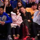 Katie Holmes – Oklahoma City Thunder vs New York Knicks game in NY - 454 x 508