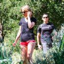 Taylor Swift Hiking In Malibu