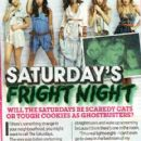 The Saturdays Magazine scans and shoots - 419 x 720
