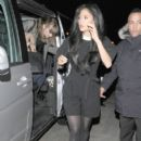 Nicole Scherzinger: enjoys a night out at 34 restaurant in Mayfair, London