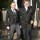 Elton John and David Furnish Wedding Day 12/21/2014