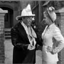 Christine McIntyre With Stooge Joe Besser - 405 x 305