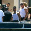 Amber Rose on the Set of 'School Dance' in Norwalk, California -  June 18, 2012 - 454 x 284