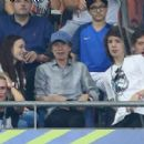 Sir Mick Jagger and his lookalike son Lucas join the rocker's other children Lizzie and James as they watch Portugal claim victory in EURO 2016 Final - 454 x 280
