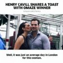 Henry Cavill- June 20, 2017 Instagram Post- Meets Omaze Winner at the London Eye
