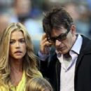 Charlie Sheen and Denise Richards - 454 x 313