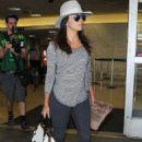 Eva Longoria At Lax Airport In La