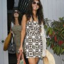 Ali Landry Leaving A Beach House Party In Malibu, July 11 2009