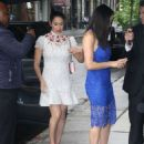 Nikki And Brie Bella Arrives – Seen at The Chew In New York - 454 x 607