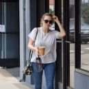 Amanda Seyfried in Jeans Out in Westwood