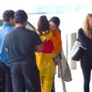 Selena Gomez in Sweatsuit – Arrives at JFK Airport in New York