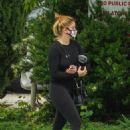 Ariel Winter – Visits a skin care clinic with a friend in West Hollywood