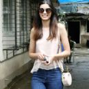 Diana Penty – Out and about at Bandra in Mumbai - 454 x 879